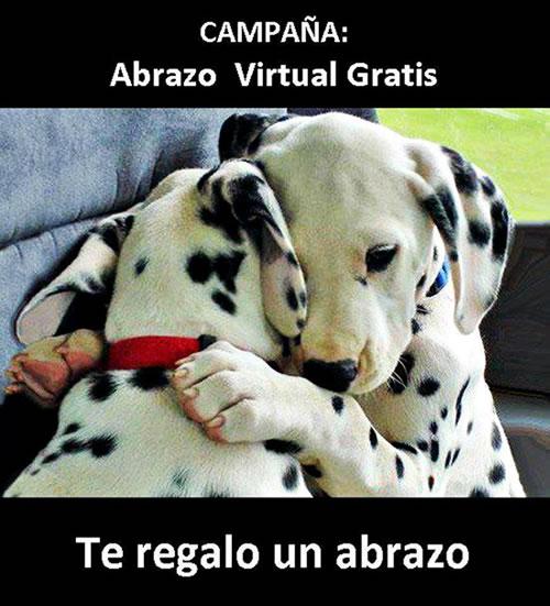 Campaña: Abrazo Virtual Gratis. Te regalo un abrazo