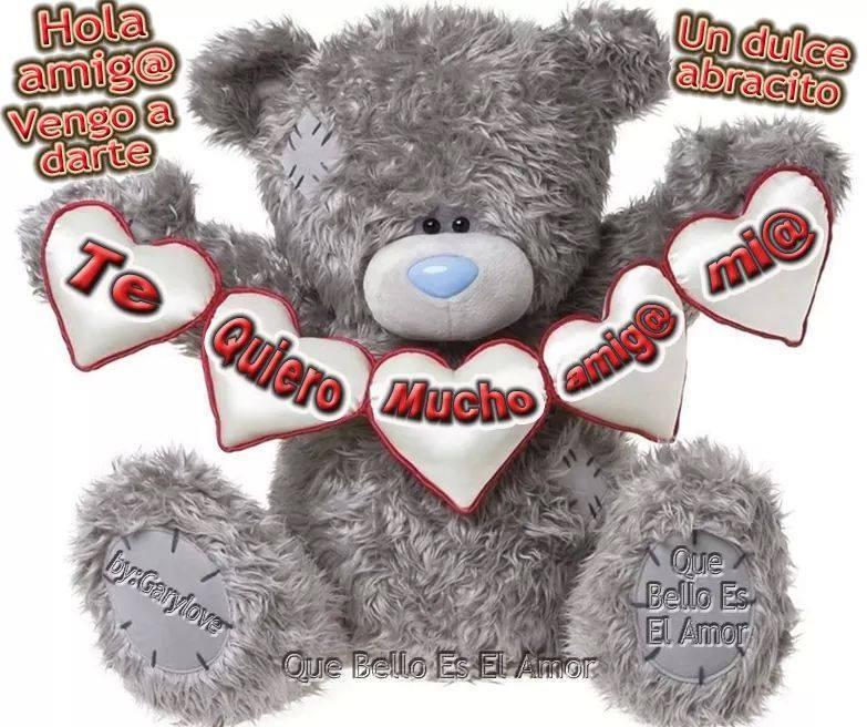 Hola amig@ vengo a darte un dulce abrazo
