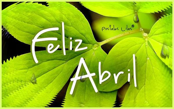 Feliz Abril