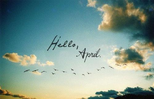 Hello, April