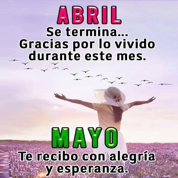 Abril se termina... Gracias...