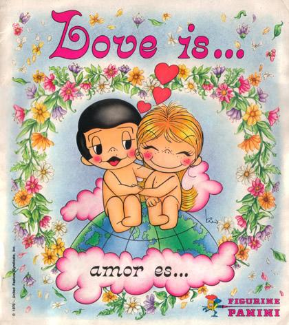 Love is... Amor es...