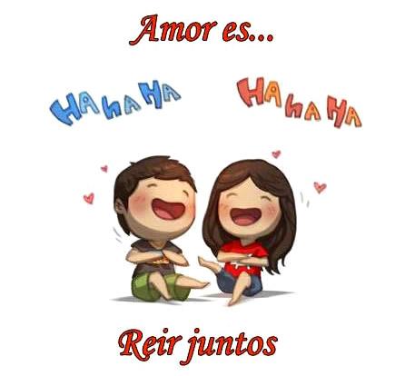 Amor es... Reír juntos