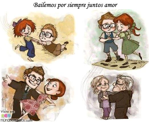 Bailemos por siempre juntos amor