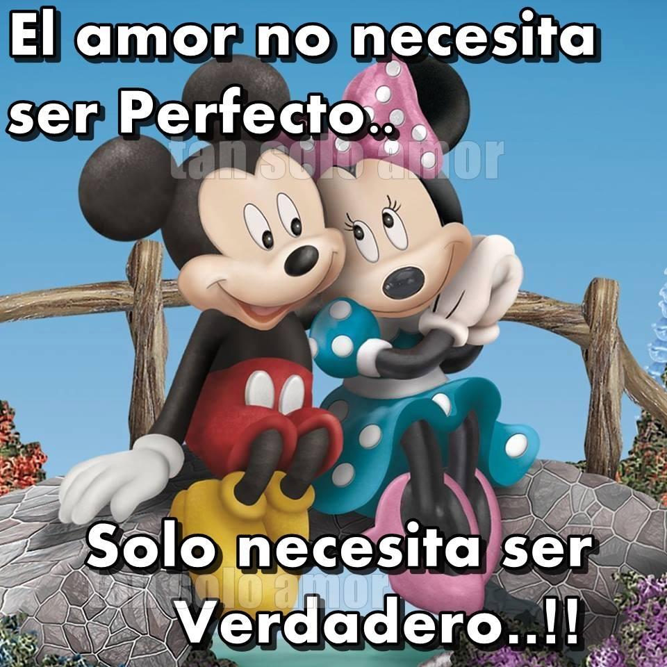 El amor no necesita ser perfecto...