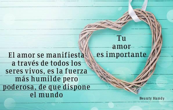 Tu amor es importante
