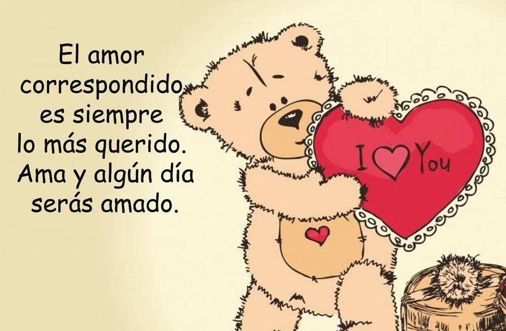 El amor correspondido es siempre lo más...