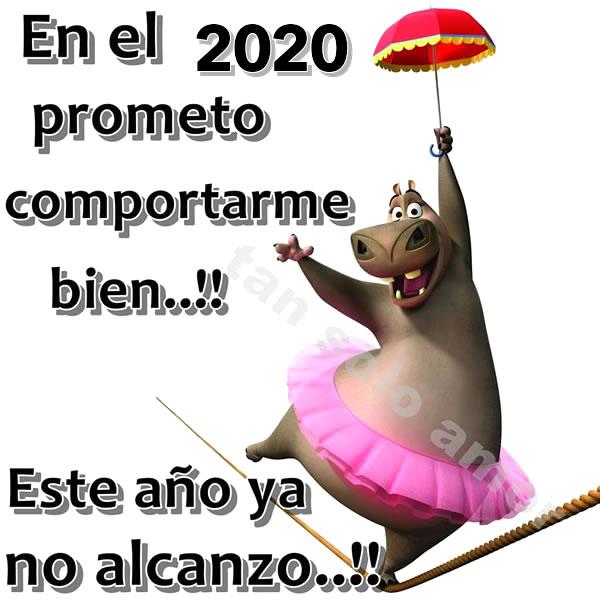 En el 2020 prometo comportarme...