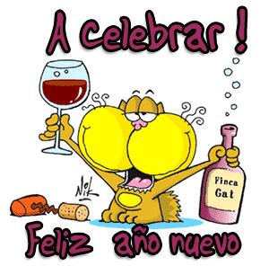 A celebrar! Feliz año nuevo