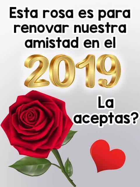 Esta rosa es para renovar nuestra...