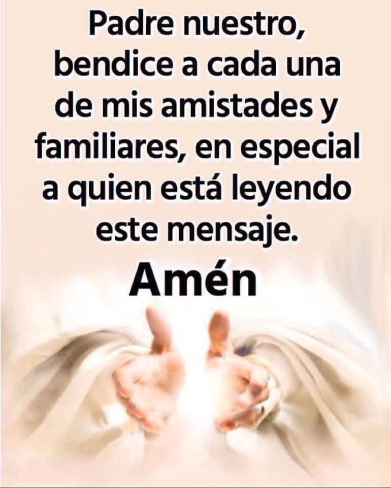 Padre nuestro, bendice a cada...