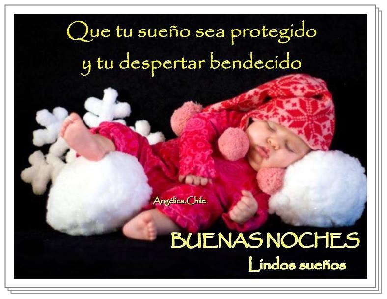Que tu sueño sea protegido y tu despertar bendecido