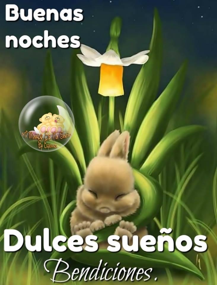 Buenas noches, Dulces sueños, Bendiciones