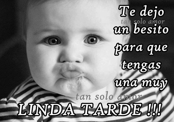 Te dejo un besito para que tengas una muy Linda Tarde!!!