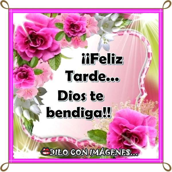 Feliz Tarde... Dios te bendiga!!