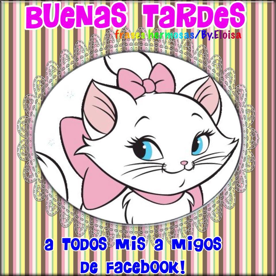 Buenas Tardes a todos mis amigos de facebook!
