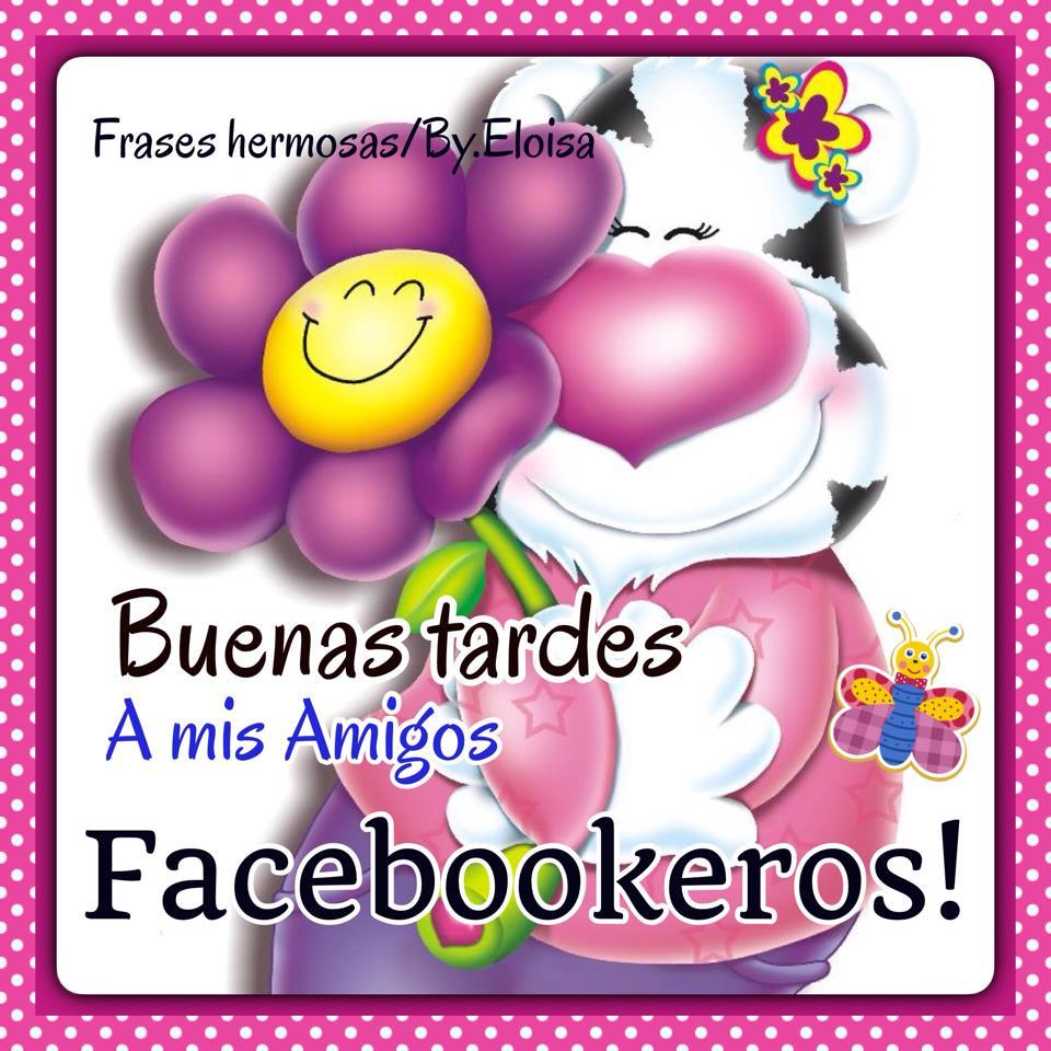 Buenas tardes a mis amigos Facebookeros!