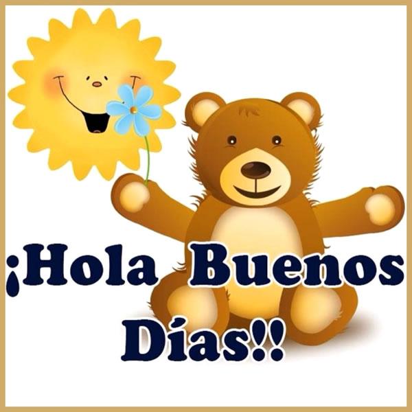 ¡Hola, Buenos Días!!