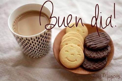 Resultat d'imatges de buenos días+cafe