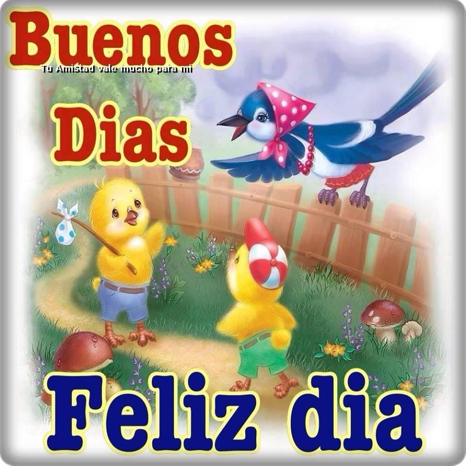 Buenos Días, Feliz día