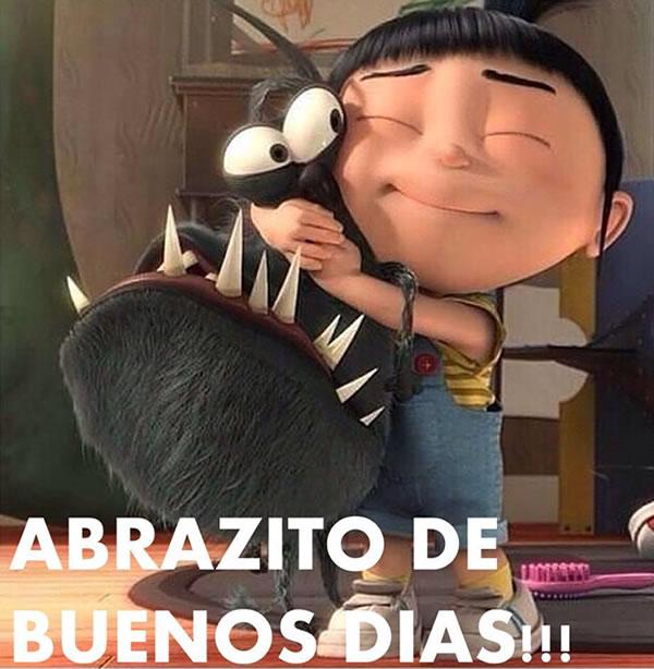 Abrazito de Buenos Días!!!