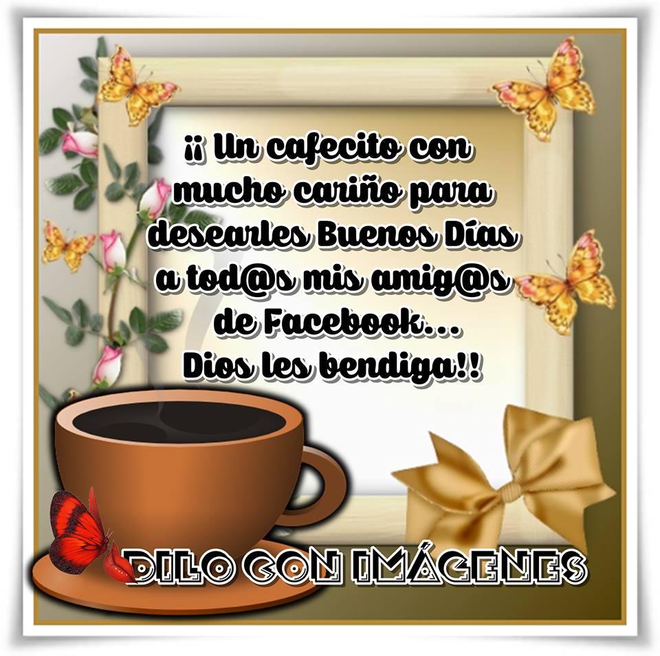 Un cafecito con mucho cariño para desearles Buenos Días...