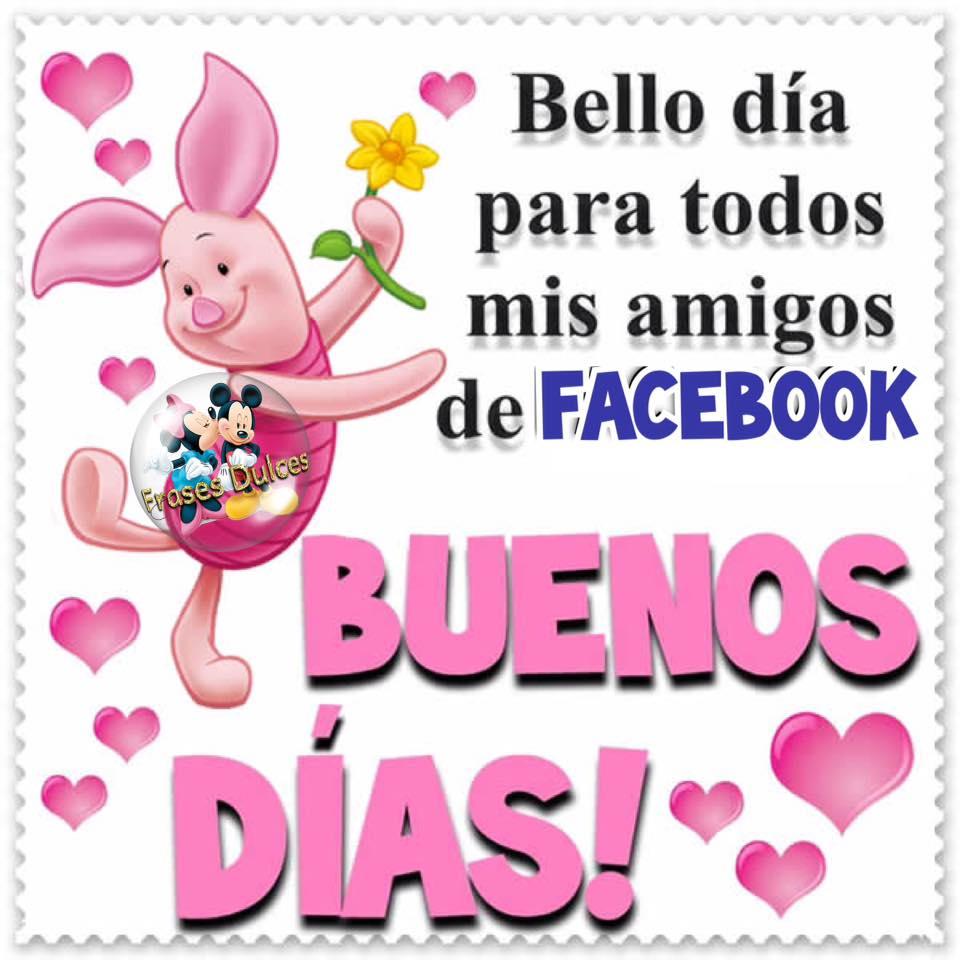 Bello día para todos mis amigos de Facebook. Buenos Días!