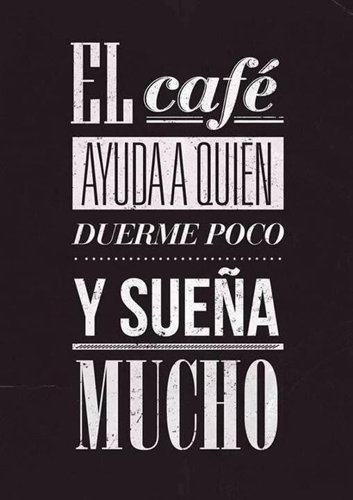 El café ayuda a quien duerme poco y sueña mucho