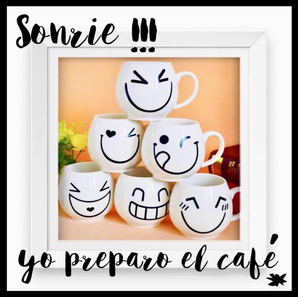 Sonríe !!! yo preparo el café