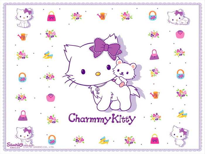 Postal de Charmmy Kitty y Sugar
