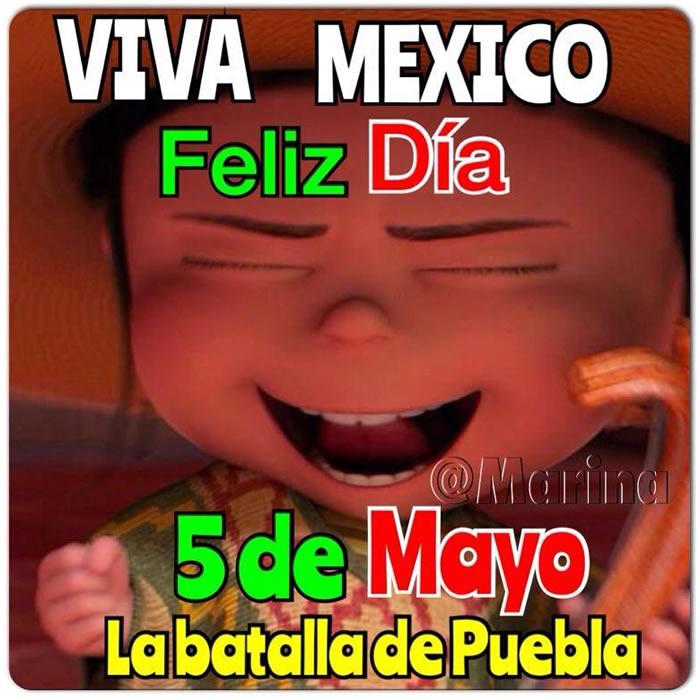 Viva México! Feliz Día 5 de Mayo, la...