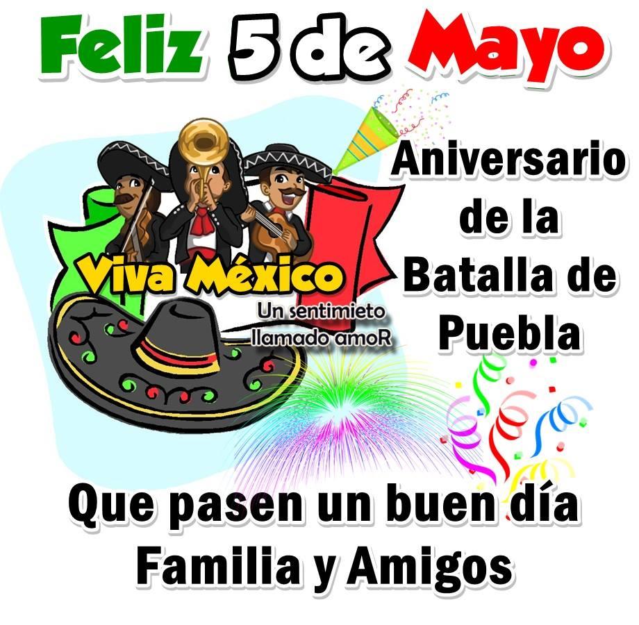 Feliz 5 de Mayo