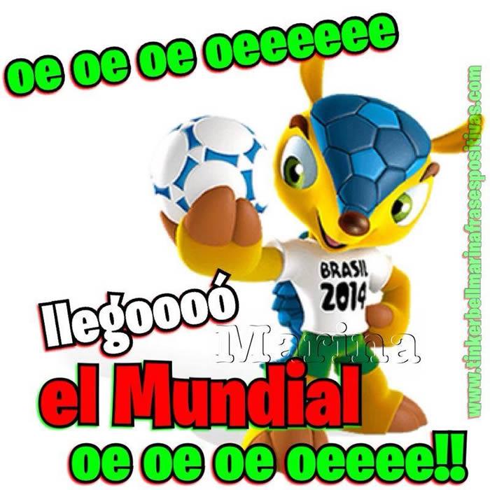 oe oe oe oeeeeee llegoooó el Mundial oe oe oeeeee!!