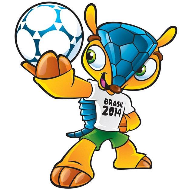 Mascota oficial de la Copa Mundial Brasil 2014