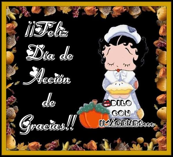 ¡Feliz Día de Acción de Gracias!
