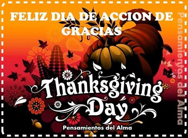 Feliz Día de Acción de Gracias