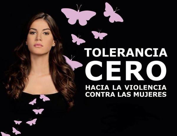 Tolerancia cero hacia la violencia contra las mujeres