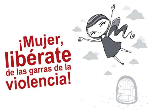 ¡Mujer, libérate de las garras de la violencia!