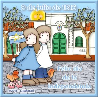 9 de julio de 1816. Feliz día de la independencia