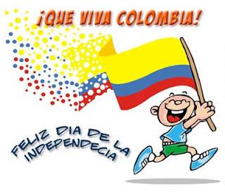 ¡Que Viva Colombia! Feliz Día de la Independencia