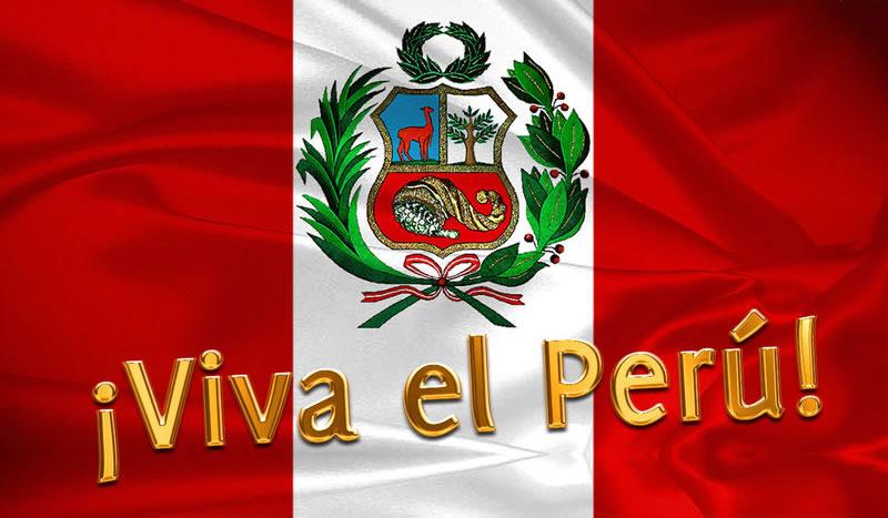 Resultado de imagen para gifs animado bandera del peru