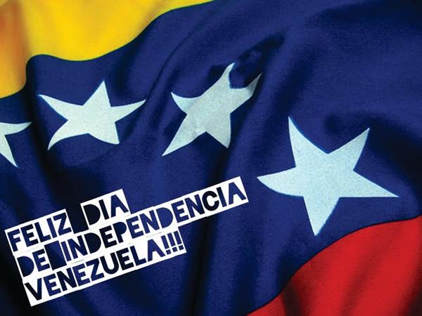 Feliz Día de Independencia Venezuela!