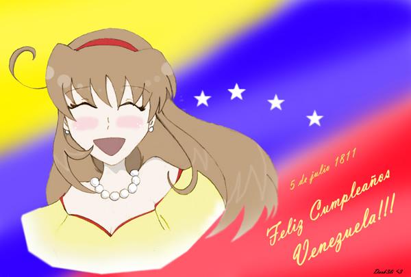 5 de julio 1811. Feliz Cumpleaños Venezuela!