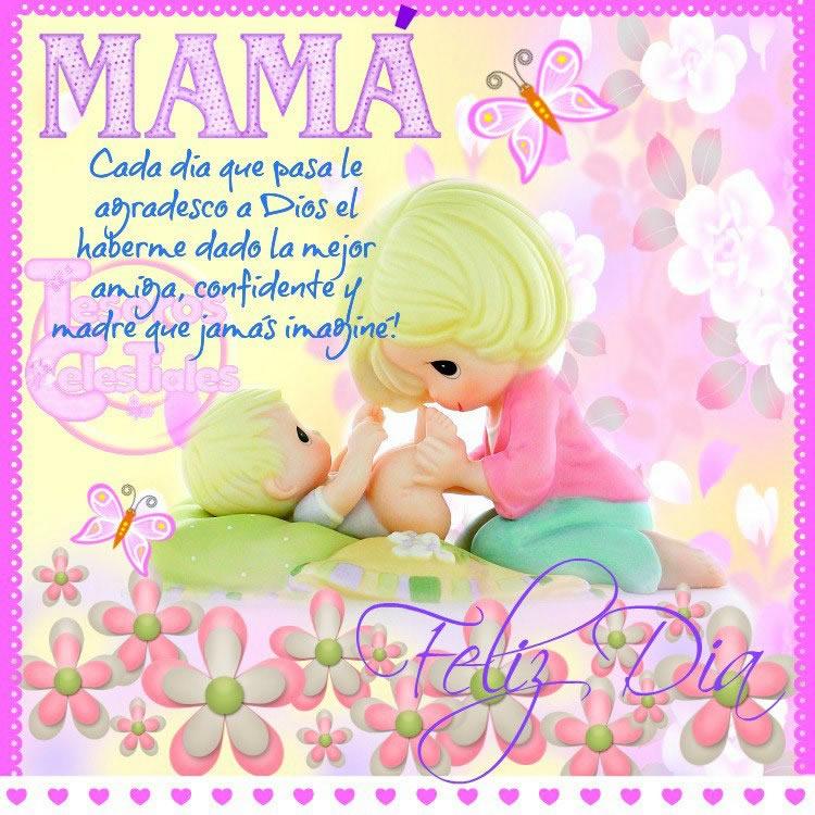 Mamá, Cada día que pasa le agradezco a Dios el haberme dado la mejor amiga
