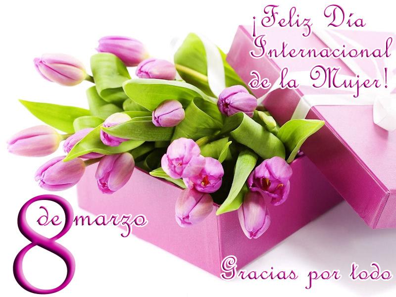 ¡Feliz Día Internacional de la Mujer! Gracias por tudo