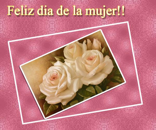 Feliz día de la mujer!!