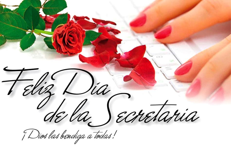 Feliz Día de la Secretaria ¡Dios las bendiga a todas!
