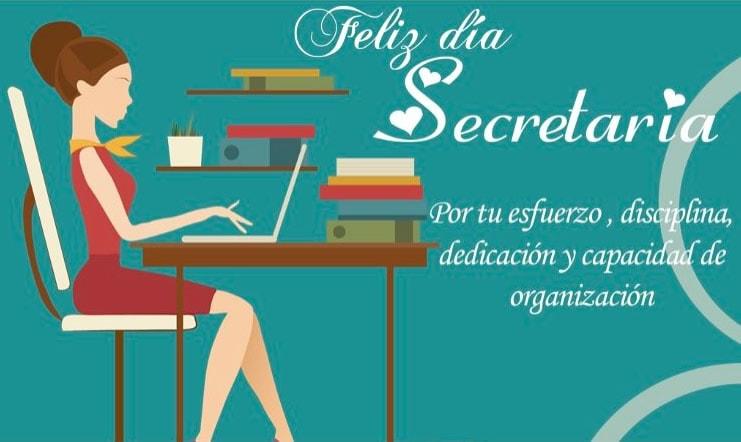 Feliz día Secretaria.