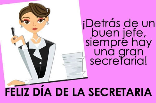 ¡Detrás de un buen jefe, siempre hay una gran secretaria!