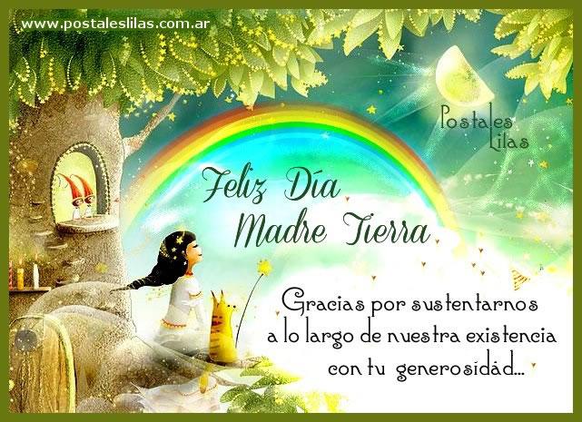 Feliz Día Madre Tierra